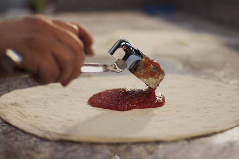 Polonic mic sos rosii inox 53 g