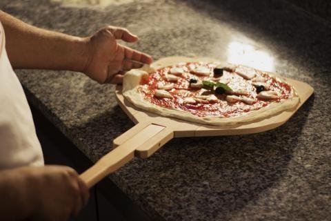 Paleta Lemn Pizza B-32R